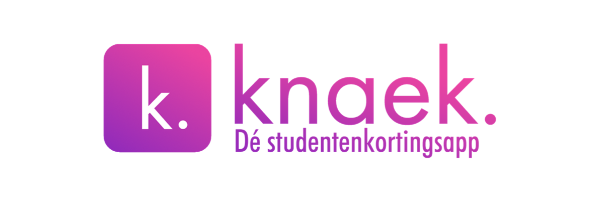 Knaek - Dé studentenkortingsapp!